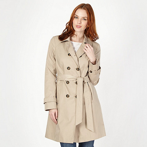The Collection Petite - Petite natural mac coat