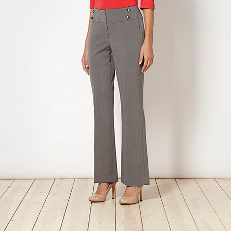 The Collection Petite - Petite grey suit trousers