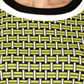 The Collection - Black geometric pattern formal dress Alternative 2