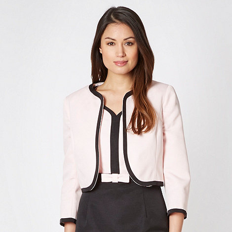 The Collection - Pale pink tipped jacket