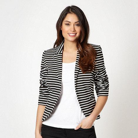 The Collection - Black striped blazer