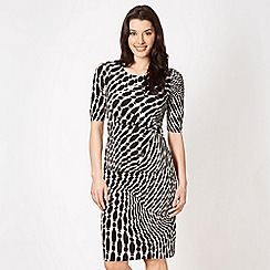 The Collection - Natural animal tribal dress