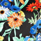 The Collection - Black colourful floral prom dress Alternative 2