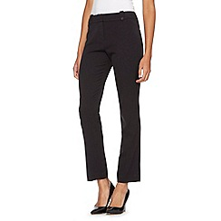 The Collection Petite - Petite black smart work trousers