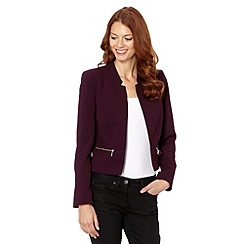 The Collection - Purple crepe jacket