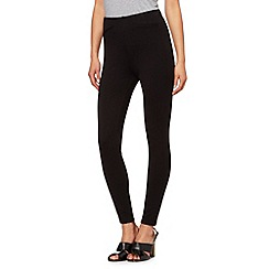 The Collection Petite - Petite black ponte treggings