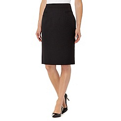 The Collection Petite - Petite black suit skirt