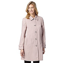 The Collection - Light pink cocoon mac coat