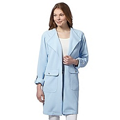 The Collection - Pale blue smart duster coat