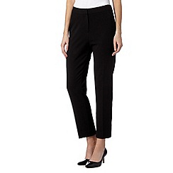The Collection Petite - Petite black workwear trousers