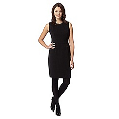 The Collection - Black panelled smart dress