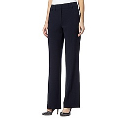 The Collection Petite - Petite navy bootcut trousers
