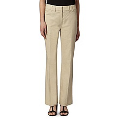 The Collection Petite - Petite natural linen trousers