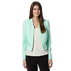 The Collection - Pale green crepe jacket