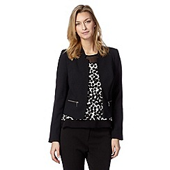 The Collection Petite - Petite black crepe jacket