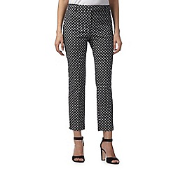 The Collection - Black mosaic print trousers