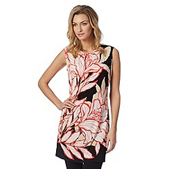 The Collection Petite - Petite coral floral print jersey tunic