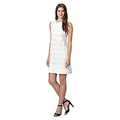 The Collection - White lace shift dress