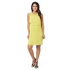 The Collection - Lime layered square dress