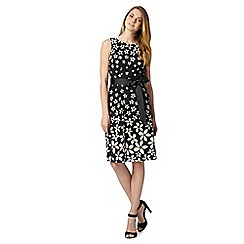 The Collection - Black floral dress