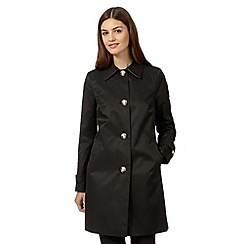 The Collection - Black cocoon coat