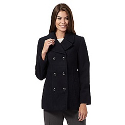 The Collection Petite - Navy reefer jacket