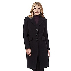 The Collection - Navy cashmere blend coat
