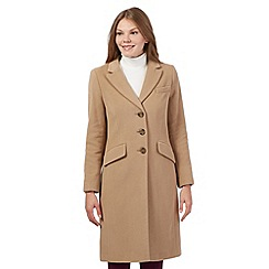 The Collection - Beige wool blend coat