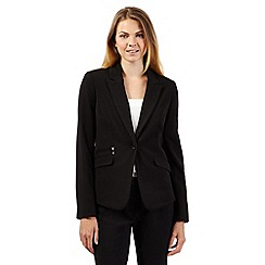 The Collection Petite - Petite black workwear suit jacket