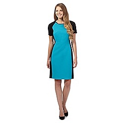 The Collection - Turquoise colour block dress