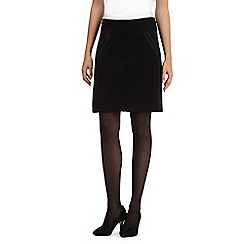 The Collection - Black A-line skirt