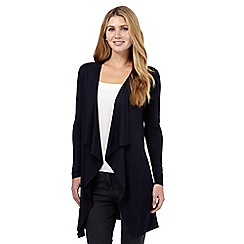 The Collection - Navy waterfall cardigan