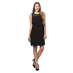 The Collection - Black square layer dress