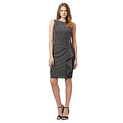 The Collection - Grey sleeveless sparkle dress