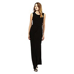 The Collection - Black embellished neck maxi dress
