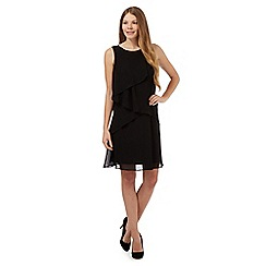 The Collection - Black frilled layered dress