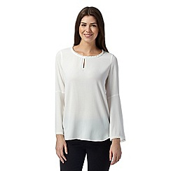 The Collection - Ivory lace bell top