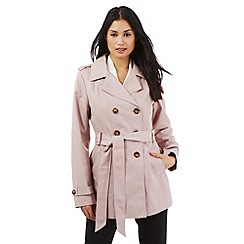 The Collection Petite - Pale pink mac jacket