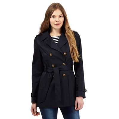 The Collection Navy mac jacket
