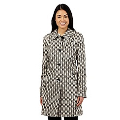 The Collection - Beige diamond mac coat