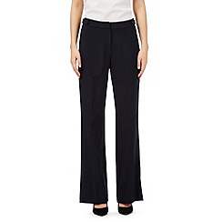 The Collection Petite - Navy bootcut formal trousers