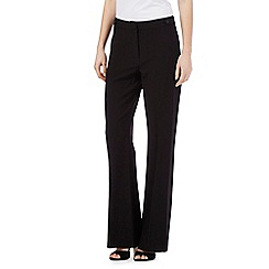 The Collection Petite - Black bootcut formal trousers