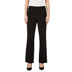 The Collection - Black straight formal trousers