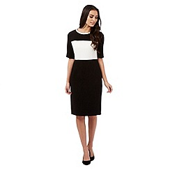 The Collection - Black colour block dress