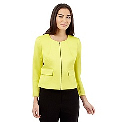 The Collection - Lime textured jacket