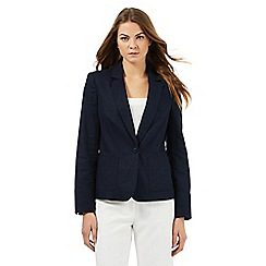 The Collection - Navy linen jacket