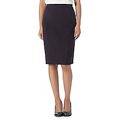 The Collection - Navy workwear skirt