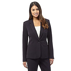 The Collection Petite - Navy lapel blazer