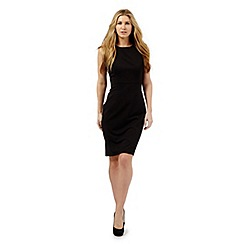 The Collection Petite - Black workwear suit shift dress