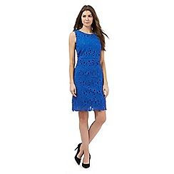 The Collection - Blue floral lace dress